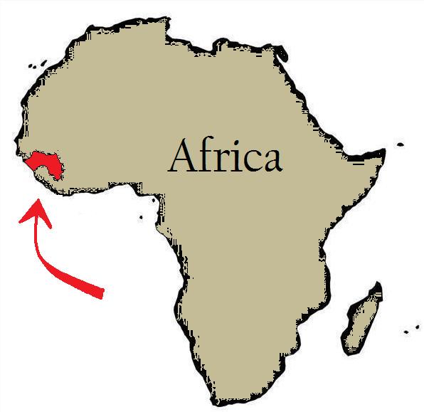 New Guinea Africa Map | Map Of Africa